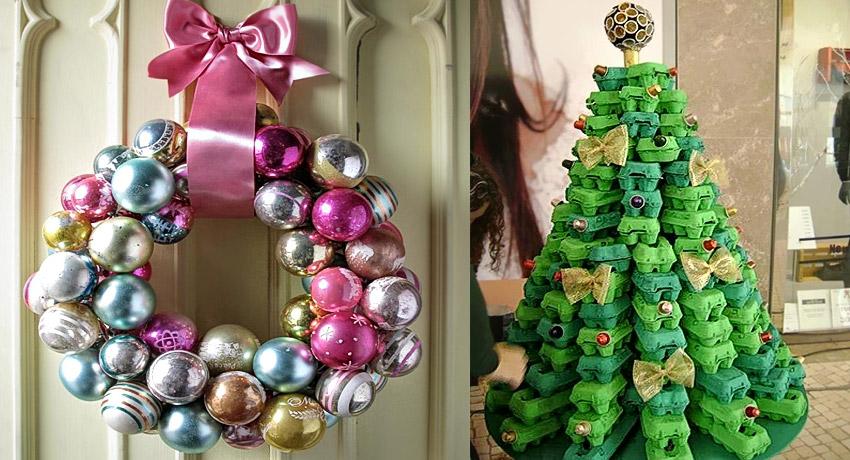 Adornos ecol gicos en navidad for Ideas originales para decorar en navidad